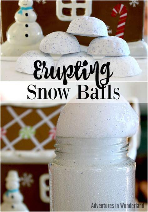 erupting snowballs winter science activity science 519 | 1ba1f12ed531b9689025b74f243de542