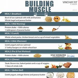 Building Muscle Meal Plan Meal Plan Muscle Muscle
