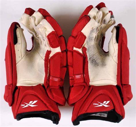 brian lashoff detroit red wings winter classic game worn