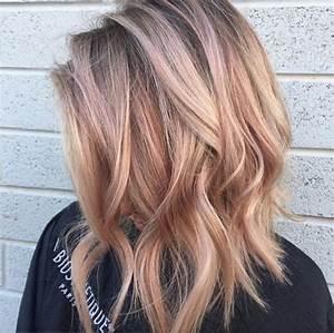 Couleur Cheveux Pastel : pastel peach hair pour une coloration qui a la p che les claireuses couleur cheveux en ~ Melissatoandfro.com Idées de Décoration