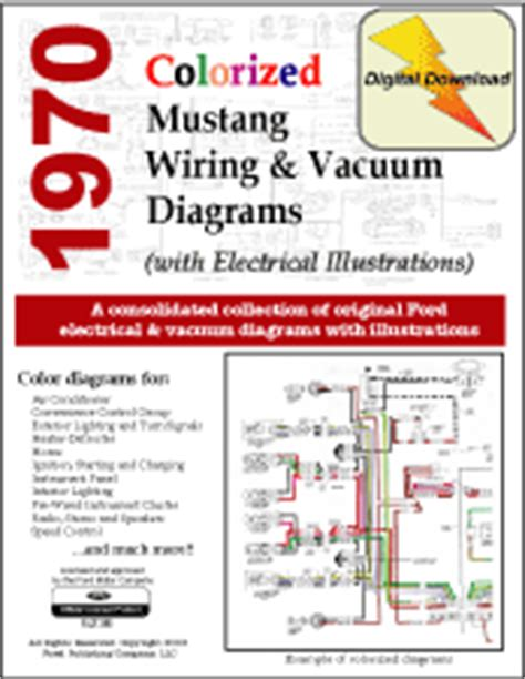 1970 Wiring Diagram by 1970 Ford Mustang Shop Manual