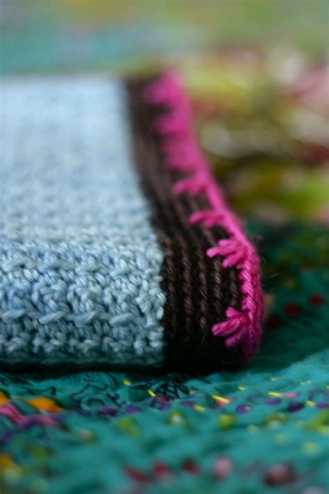 Crochet Baby Blanket Edging