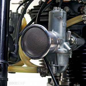 Amal 930 Carburetors Are Fitted With Velocity Stacks