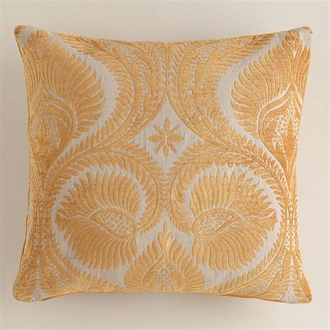 world market pillows nouveau chenille throw pillow world market