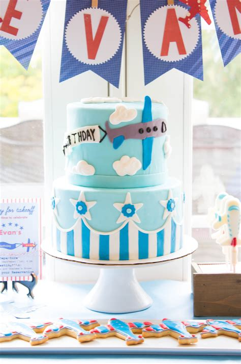 Airplane Cake For An Airplane Themed Party  The Kitchen