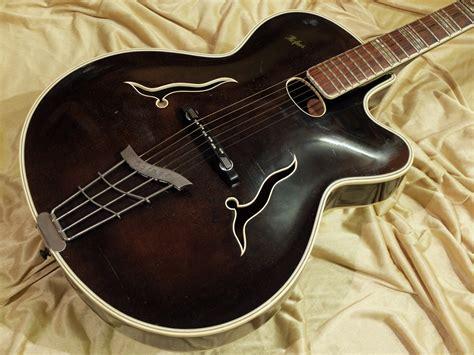 hofner jazz guitar  black brown guitar  sale plektrum