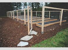 Deer Fence For Garden 1000+ Ideas About Garden Fencing On