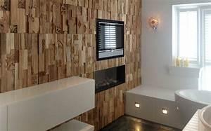 Panneau Deco Salle De Bain : panneau mural en bois et rev tements 3d photos exclusives ~ Melissatoandfro.com Idées de Décoration