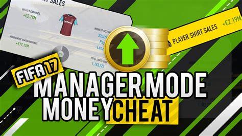 Fifa 17 Manager Mode Money Hack  Fifa 17 Cheats Youtube