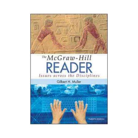 The Mcgrawhill Reader Issues Across The Disciplines Walmartcom