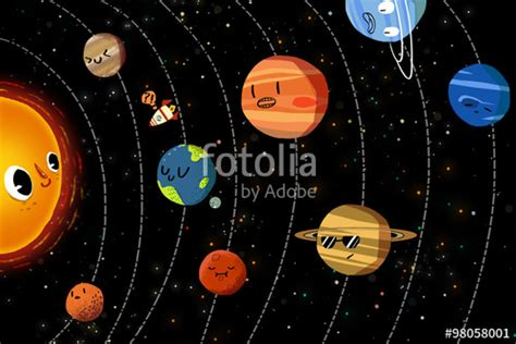 The Happy Planets In Solar