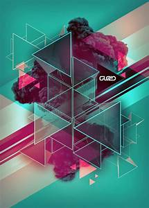 35 Amazing Geometric Poster Designs | Web & Graphic Design ...