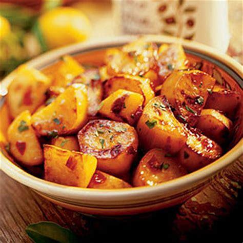 sweet potato sides recipes chili glazed sweet potatoes thanksgiving side dish recipes sunset