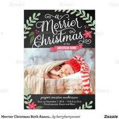 1000 ideas about Christmas Birth Announcements on