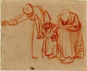 Rembrandt's Gesture Drawing