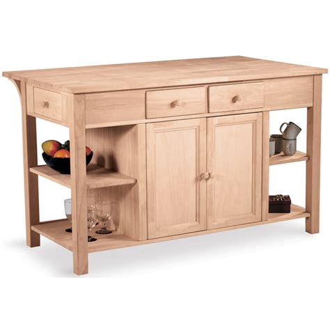 kitchen island shelves free shipping on international concepts kitchen island