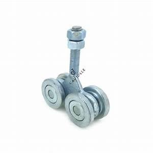 Roue Pour Porte Coulissante : chariot roulettes pour porte coulissante de grange de 750 kg ~ Teatrodelosmanantiales.com Idées de Décoration