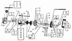 Abu Garcia 6600 C Parts List And Diagram