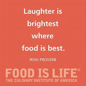 Food is Life at... Pacific Institute Quotes