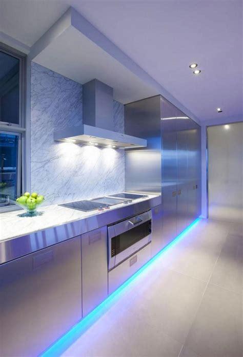 cuisine avec led l éclairage led une précieuse astuce luminaire pour