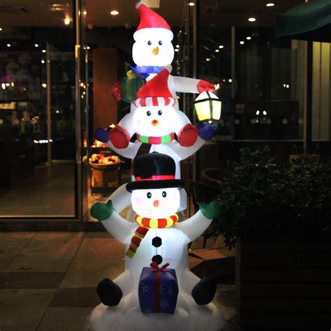 schneemann aufblasbar beleuchtet led schneemann beleuchtet aufblasbar weihnachtsfigur deko au 223 en gro 223 beleuchtung ebay