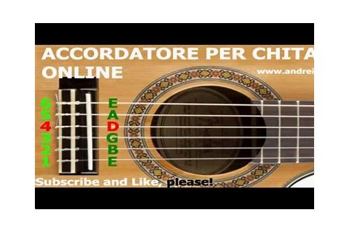 accordatore chitarra online download