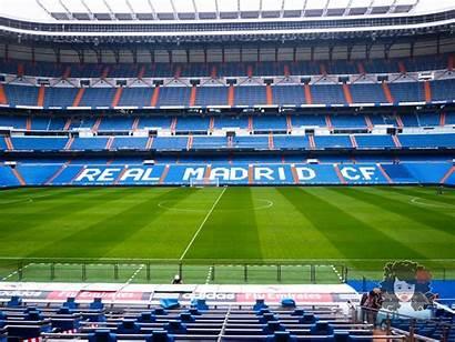 Madrid Stadium Bernabeu Tour Visiting Soccer Football