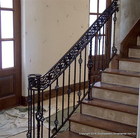 wrought iron banister wrought iron stair railing southeastern ornamental iron