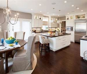 dark wood floors white kitchen cabinets kitchen and decor With kitchen colors with white cabinets with wood floor stickers