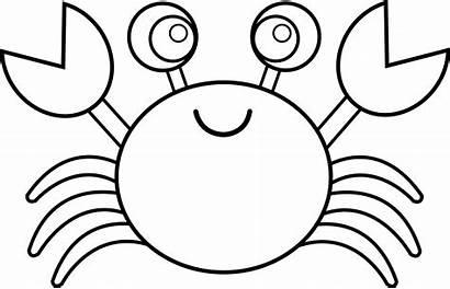 Ocean Animals Clipart Crab Clipartpanda Clip Line