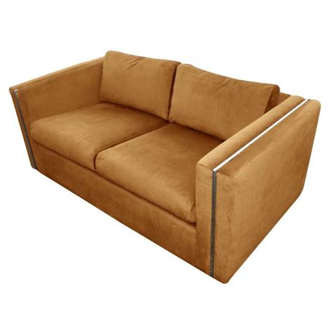 throwovers for settees milo baughman for thayer coggin settee sofa for sale at