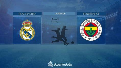 Vídeo: Streaming en directo | Real Madrid - Fenerbahce ...