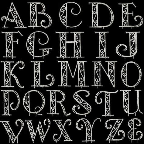 single letter swarovski crystal roman font cake topper   art deco great gatsby wedding