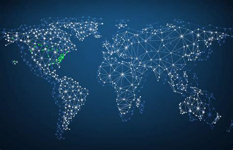 bigstock global network mesh social
