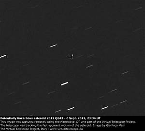 "Live event: ""Asteroid 2012 QG42 close encounter"" - The ..."
