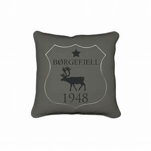 Stoffe Mit Hirschmotiven : kissen hirsch deer 45x45 dunkel olivengr n ~ Markanthonyermac.com Haus und Dekorationen
