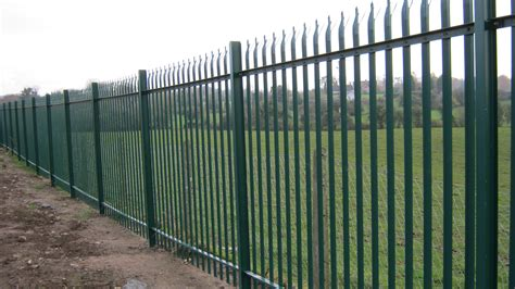chain link fence post palisade fencing frs fencing