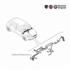 Fiat Grande Punto  Dashboard Wiring Harness