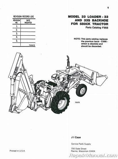 Case Loader Backhoe Parts International 580 Construction