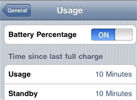 how to show battery percentage on iphone 5 iphone iphone battery percentage display