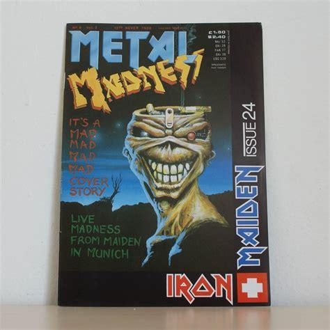 iron maiden fc magazine  iron maiden collector