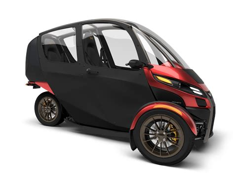 Vehicle With Three Wheels by Arcimoto Srk Electric Three Wheeler Hails The Future Of