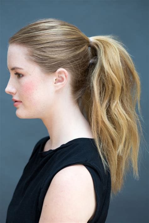 super easy hairstyles     literally  seconds