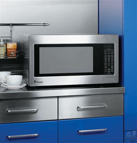 monogram zesf  cu ft countertop microwave oven