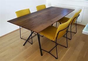 Massivholz Tisch : elegantes design massivholz esstisch massivholz design ~ Pilothousefishingboats.com Haus und Dekorationen