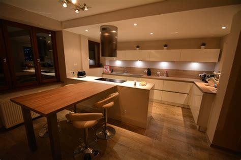 cuisine blanc laque cuisine moderne laque blanc maison moderne