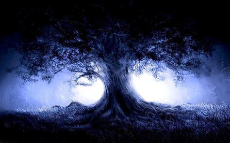 Blue Tree Wallpaper blue tree 1920x1200 artistic wallpaper 3391 chainimage