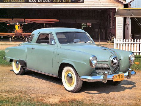 """Car Style Critic: Studebaker's """"Airplane"""" Front-End Styling"""