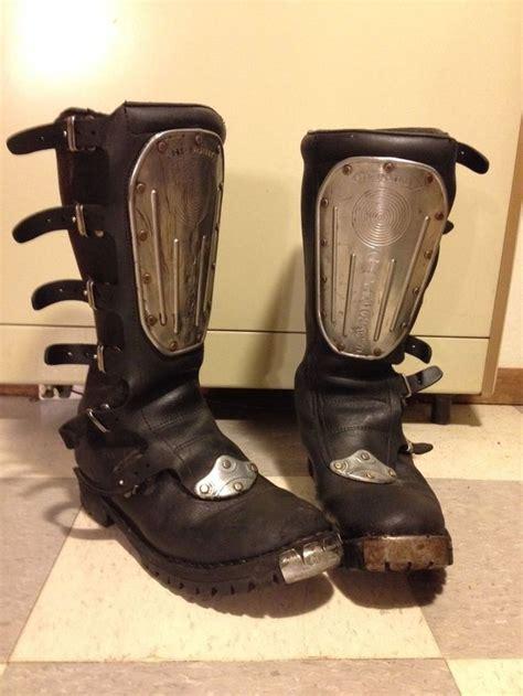 vintage motocross boots hi point alpinestar mx vintage boots mens leather ahrma