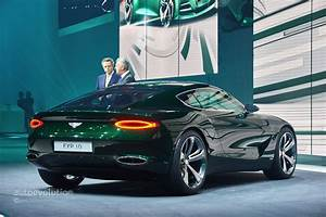 Confirmed: Bentley Sports Car Coming In 2019 With Electric